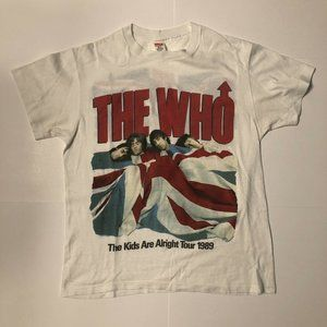 Vintage 1989, The Who, Kids Are Alright, T shirt M